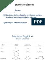 Compostos ôrganicos