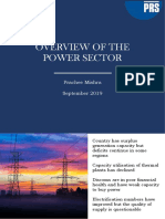 Overview of the Power Sector