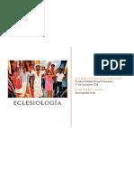 Monografía de Eclesiología