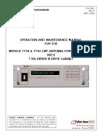 Vertex RSI 7134 Antenna Control Unit