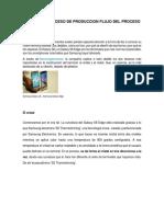 Diseño Del Proceso de Produccion Flujo Del Proceso