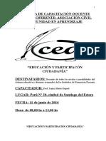Educacion y Participación Ciudadana