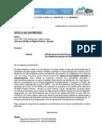 Oficio N°  -  PNP - apyo policial