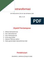 Biotransformasi