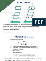 P Delta Effect be uild