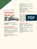 Ilustracion botánica zoologica