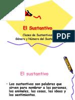 5º El Sustantivo (Unidad 1)