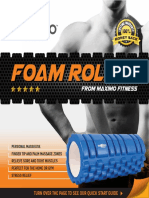 English foam roller instructions