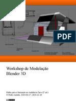 Introdução à Modelação 3D com Blender 2.5