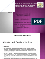 The Assigment of Psycholinguistic