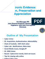 6.Electronic Evidence- Collection Preservation and Appreciation
