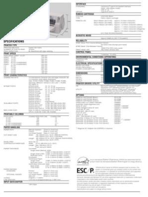 GRATUITEMENT TÉLÉCHARGER DRIVER EPSON DLQ-3500