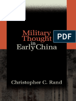 Military Thought in Early China