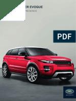 Range rover evoque brochure