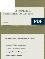 Standard of Living, Nutrition, And Health