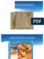 Cortes de Langostino