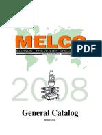 MELCO General Catalogo