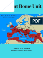 ancient rome unit plan complete