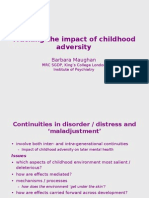 Tracking the Impact of Childhood Adversity