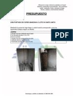 PRESUPUESTO de Construccion Drywall