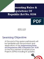 Revised Presentation - InfraProcurement.ppt