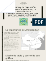Zhoukoudian en Transición
