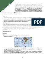 Análisis de la circulación del aire y del agua, como una forma de redistribución del calor en la Tierra, y describir el clima característico en enero y julio para la región América del Sur.