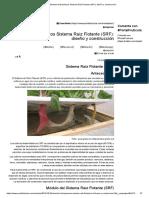 Módulos Hidropónicos Sistema Raíz Flotante (SRF)_ Diseño y Construcción