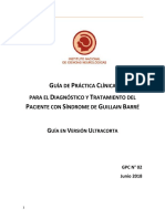 Guía Sindrome Guillian Barre Ultracorta
