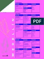 Medellin FB Timetables