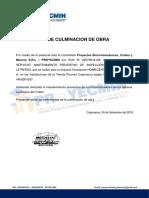 ACTA DE FIN DE OBRA