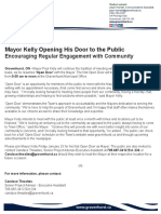 january 14 media release open door with mayor paul kelly