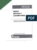 Asme b30.5 - 2004 Gruas Moviles y Locomotoras