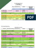 Planificare Anuală Grupa Mijlocie, An Școlar 2019-2020