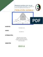 Desviacion Normal- Estadística