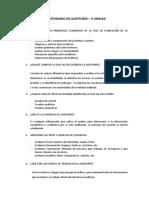 Cuestionario de Auditoría G-1