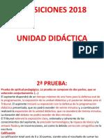 UNIDAD DIDÁCTICA OPOSICIONES
