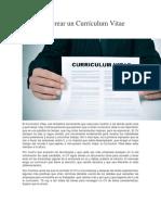 Guía para crear un Currículum Vitae perfecto.docx