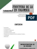 Infraestructura de La Calidad en Colombia