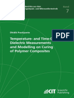 Temperature- And Time-Dependent Dielectric Measurements and Modelling on Curing of Polymer Composites 2016 Prastiyanto (Thesis) 2016 (Important)