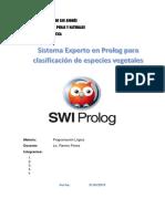 Sistema Experto en Prolog Para Clasificación de Especies Vegetales