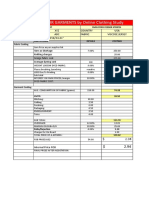 Garment Sample Costing Sheet by OCS