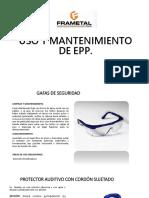 Uso y Mantenimiento de Epp.