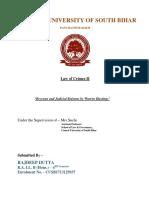 Rajdeep Legal History