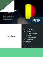 Exposé du Belgique