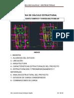 Memoria de Cálculo Estructural - Barrancom