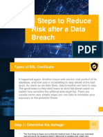5 Steps to Reduce Risk After a Data Breach