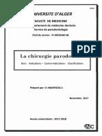 1.2 La Chirurgie Parodontale