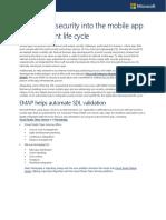 desarrollo seguro de app