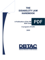 Disability Law Handbook Dbtac Sw